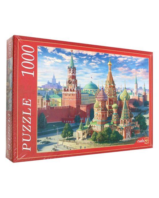 Пазл москва красная площадь ткани на метраж купить в иваново